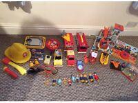 Huge fireman Sam toys bundle