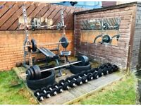** PRICE DROP URGENT SALE ** Complete outdoor gym set for £400 cost £1200 BARGAIN