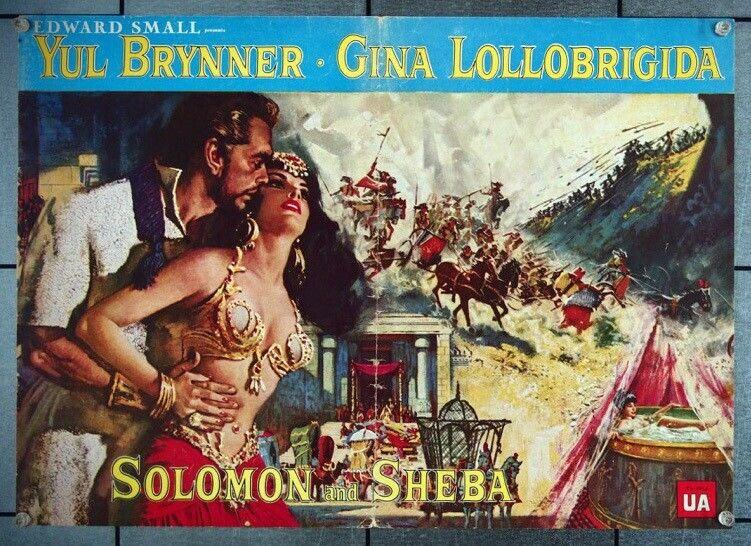 SOLOMON AND SHEBA (1959) 27045