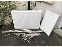 Scrap Metal - Old Radiator & Copper Pipe - £10 ONO