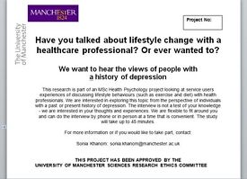 Receive £10 for participating in a psychology study- The University of Manchester