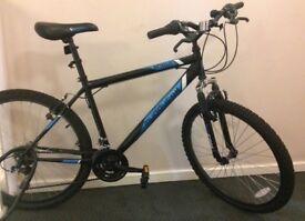 Cheap mountain bike plus accessories - almost new