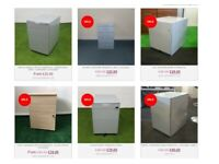 Used & New Desk Pedestal Drawers - Visit Our Chester Showroom @ City Office Furniture