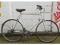Vintage racing dutch bike PEUGEOT frame 23inch - serviced ready to go - Welcome for test ride