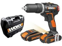New ex display 20v drill with charger and 2 batteries