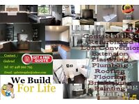 General Builder Refurbishment Plastering Painting Flooring Plumbing Tiling Kitchen & Bathroom