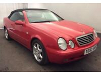 MERCEDES CLK320 SPORT CONVERTIBLE AUTO[PRICE REDUCED]FULL MOT..F S H..LOOKS GOOD