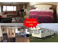Last min breaks Great Yarmouth Caister Haven Deluxe 3 bedroom 8 berth holiday home