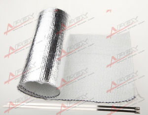 Universal-Starter-Distributor-Aluminized-Heat-Shield-Reflective-Mylar-for-Motor