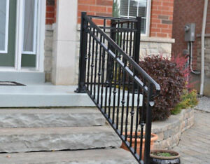 Aluminum and Glass Railings  Special
