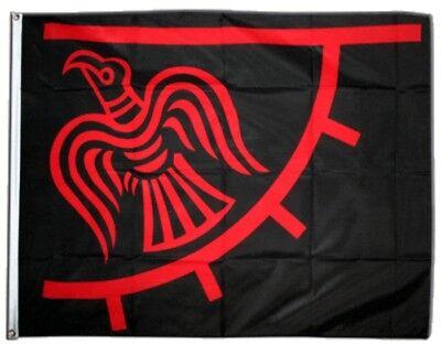 Fahne Wikinger Odinicraven Flagge Viking Hissflagge 90x150cm