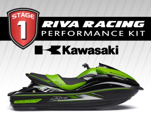 Kawasaki 2014-2016 Ultra 310 Riva Stage 1 Kit 73+ Mph W/ Scom / Intake Grate +