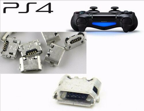 10pcs+Replacement+Charger+Port+Socket+Jack+Connector+for+Sony+PS4+Controller