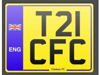 Chelsea Number Plate