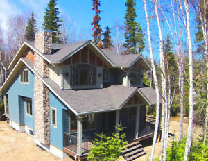 Enjoy Fall colours from your 1800sq.ft.Elk Ridge Estates Cabin