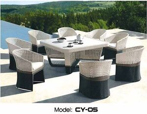 CY 05 Aluminum Frame/Water Resistant Cushions