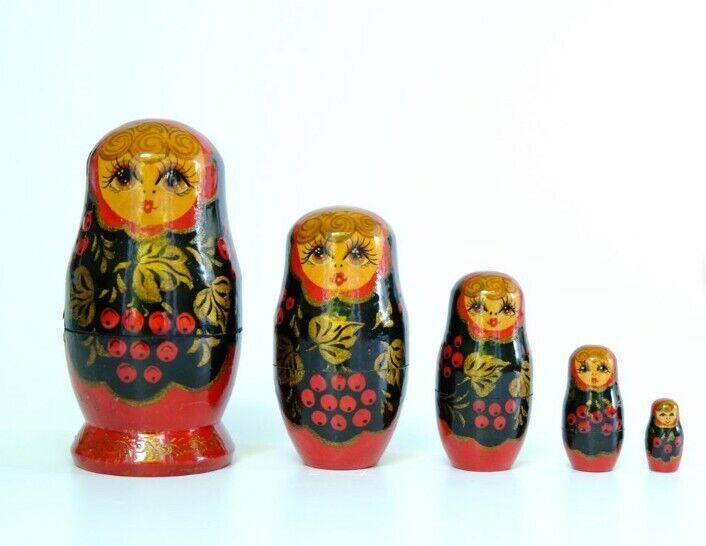 matryoshka dolls 5-piece