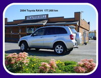 2004 Toyota RAV4 SUV Delta/Surrey/Langley Greater Vancouver Area Preview