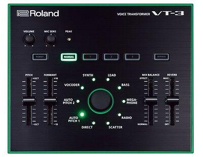 Roland VT-3 VT3 Voice Transformer Vocal Effects Processor New