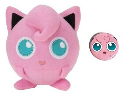 "Toy Factory 6"" Jigglypuff Plush Pokemon - New. Comes with a pin!"