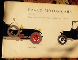 Early Motor-Cars First Series 1894-1904 by George A Oliver Books 1 and 2 Good condition