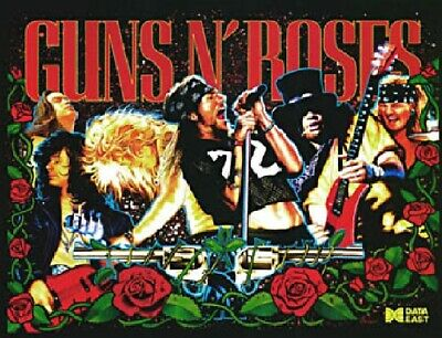 GUNS n ROSES Complete LED Lighting Kit custom SUPER BRIGHT PINBALL LED KIT