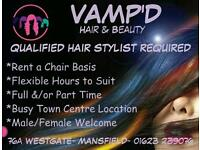 HAIR STYLIST WANTED.....