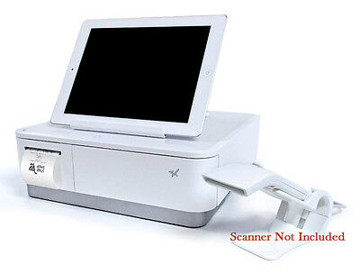 Star mPOP Tablet Stand, CASH Drawer and Printer WHITE 39650011