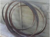 Barrel Rings - Garden Decor / DIY Planters