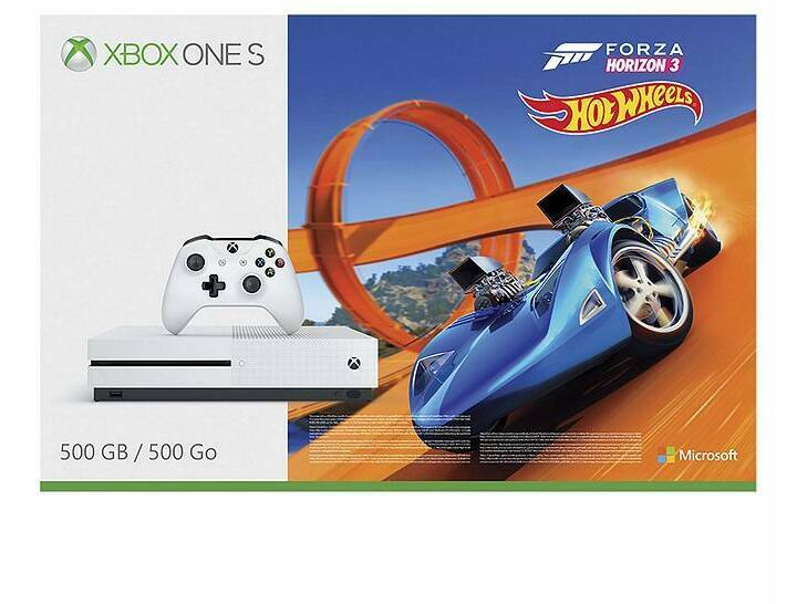 👉BRAND NEW XBOX ONE S with forza horizon 3 and hotwheels DLC.