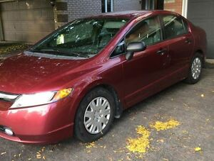 2008 Honda Civic VERY LOW kms !!!