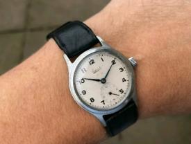 vintage 1952 everite rotary dennison case watch