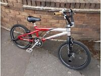 Magna Screamer Racing BMX with trick nuts