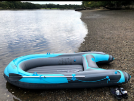 Inflatable dinghy boat max 210 kg