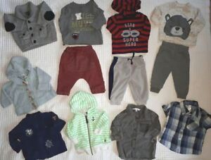 0-3 month baby boy lot - 60+ items