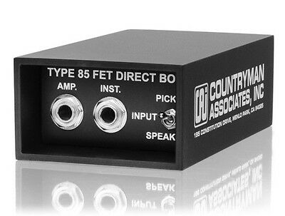COUNTRYMAN TYPE 85 DIRECT BOX NEW DT85  KILLER BOX! DT-85 Ships Quickly