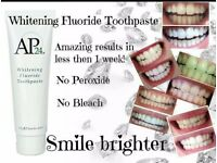 ap24 whitening toothpaste brand new all boxed