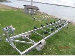 16' Aluminum Naylor Roller Ramp