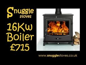 Stove. Delivery £20. Boiler. NEW.