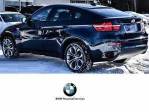 2014 BMW X6 35I  VUS