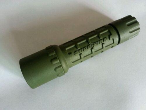 surefire G2 OD Nitrolon Single Output Extremely Durable CREE LED 123A Flashlight