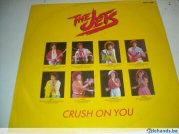 maxi-single The Jets : Crush on you / Right before my eyes