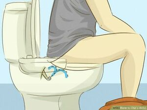 Be Clean & Neat by Installing Equipment,(WASH YOUR SELF@ toilet)