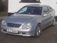 2004 C180 Coupe SE. Lovely to drive, very reliable (it's a Merc, of course it's a pleasure to drive)
