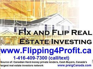 Making a Fortune Fixing  Flipping houses in Canada Seminar