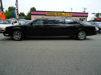 Cadillac DeVille & DTS LIMOUSINE  PROFESIONAL,ACCIDENT FREE