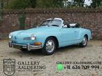 VW Karmann Ghia 1600 Convertible Only 44.139 Miles!