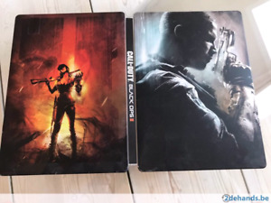PS3 GAMES ( BLACK OPS 2 STEELCASE/ COD MORDERN WARFARE 4)