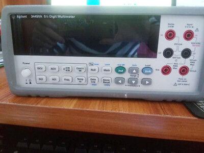 Keysight Hp Agilent 34450a Digital Multimeter 5 Digit Multimeter Tested