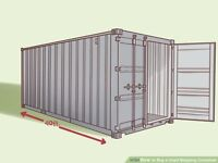CHEAP SECURE INDOOR SHIPPING CONTAINER STORAGE TO RENT NEAR IPSWICH NOW GONE BUT MORE LATER